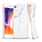iPhone 8/7 Case, iPhone 7/8 Marble Case, ESR Slim Soft Flexible TPU Marble Pattern Cover for Apple iPhone 7/8(White Sierra)