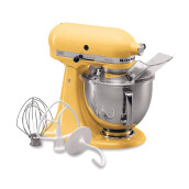 KITCHENAID Artisan Series 4.8 L - 5KSM150PSEMY Tilt-Head Stand Mixer/Majestic Yellow