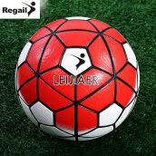 LEIJIAER Size 5 Graded PU Anti-slip Soccer Ball Football