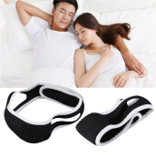 Stop Snoring Chin Strap Support Solution Sleep Anti Snore Jaw Belt Headband