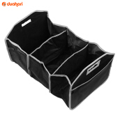 VAPING DREAM - Cooler Storage Bag Car Organizer / Box Penyimpanan Tas Mobil Black
