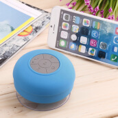 Kingstore-Wireless Bluetooth Tahan Air Handsfree Mic Suction Speaker Shower Car