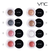 VNC Eye Shadow Cream -Shiny black Pink Silver Brown Red