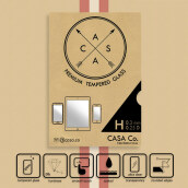 CASA Tempered Glass for Apple iPhone 6 - Clear 0.3mm - Standard