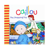 CHOUETTE Caillou The Shopping Trip 3 - 6 years