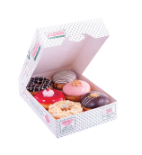 Krispy Kreme - 6 assorted donut (3 ring donut+3 shell donut) Rp 66.000