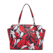 GUESS Handbags Satchel - Red Multi [FF642108]