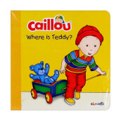 CHOUETTE Caillou Where is Teddy? 2 - 4 years