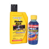 WAXCO Rain Act + Windshiel Cleaner WX-250-RX+120 WC