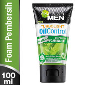GARNIER Men Turbolight Oil Control Matcha Gel 100ml