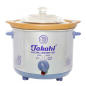 TAKAHI Slow Cooker 1.2 L Heat Resistant - Blue