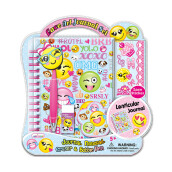 HOT FOCUS Lace Art Journal Set - Emoji 253AB EM