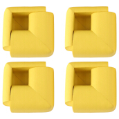 8pcs Thick Table Corner Cushion Anti-crash Baby Safety Guard Gray YELLOW