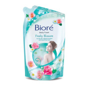 BIORE Body Foam Freshy Blossom Pouch 450 ml