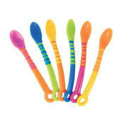 SASSY First Solid Soft Tip Spoon - 6 pk