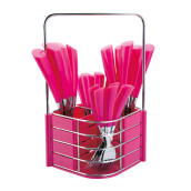 NAKAMI Stainless Steel Cutlery 25pcs - Pink