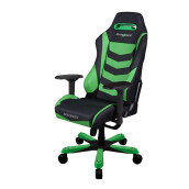 DX RACER Iron Series OH/IS166/NE Black, Green Gaming Chair
