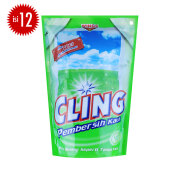 CLING Hijau Pouch Carton 425ml x 12pcs