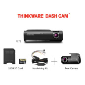 Thinkware Dash Cam F770 + Rear Camera + Memory 32 Gb