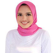 BUTTONSCARVES Kana Square in Razzle Dazzle - Pink [One Size]