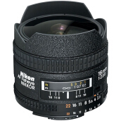 NIKON AF Fisheye-NIKKOR 16mm f/2.8D  - Black