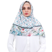 KAMILAA by ITANG YUNASZ Square Hijab - Flower in Square