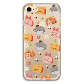 CASETOMIZE Classic Hard Case for Apple iPhone 8 Plus - Chubby Pooh & Friends Tsum