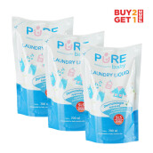 PURE BABY Combo Laundry Liquid Refill 700ml (2+1)