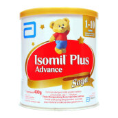 ISOMIL Plus Advance Susu Soya Tin - 400gr