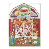 MELISSA & DOUG Puffy Sticker Play Set - Farm MD-9408