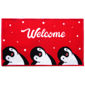 ARTSYs Keset Anti Slip Xmas Edition NEW 40x70 cm - Welcome Peng Red Others