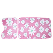2pcs Coral Fleece Bathroom Memory Foam Rug Mats Set