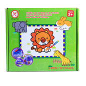 ABCD Waterdoodle Card Animal WDC001