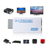 NEW For Wii to HDMI 1080p Converter Adapter Wii2hdmi 3.5mm Audio Box For Wii-link