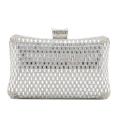 NEW COLLECTION Medium metallic clutch - Silver