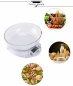 WeiHeng WH - B09L 7kg / 1g Kitchen Electronic Scale Food Weighing Tool with Bowl