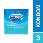 DUREX Kondom Basic Together 3pcs