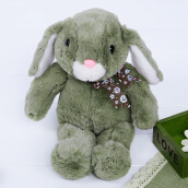Stuffed Bunny Design Babies Plush Toy Doll (Green)