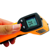 Denshine IR Infrared Digital Temperature Gun Thermometer Laser Point With Temperature Range -50 to 380℃ (-58 to 716°F)