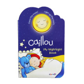 CHOUETTE Caillou My Nightlight Book 3 - 6 years