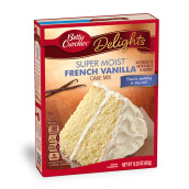 BETTY CROCKER Supermoist French Vanilla 432g