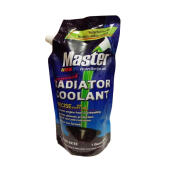 Master Premixed Radiator Coolant - Hijau Refill Pouch 946 mL