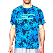 UNDER ARMOUR SC30 Logo Printed Tee - Electric Blue
