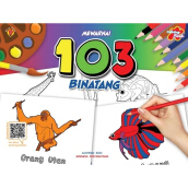 Coloring Book - Mewarnai 103 Binatang - Tim Eldi 717110352