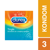 DUREX Kondom Sensasi Tingle 3pcs