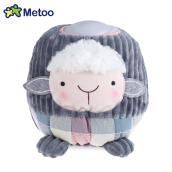 METOO Home Bedside Plush Pat Nightlight for Children(Greey Sheep)