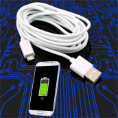 [Kingstore]2M Micro USB Charger Charging Sync Data Cable For Samsung Galaxy S2 S3 S4