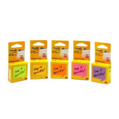 POST-IT Sticky Notes CUBE 2X2 2051-2ANL Mix Neon Color 40PK/CV