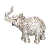 VIVERE Object Deco Dumbo Parsley - Silver / 18X8X16Cm