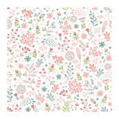DREAM WORLD Wallpaper Fancy Flowers A5094